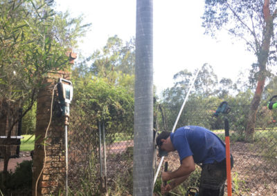 TITAN POLE INSTALLATION AND REMOVAL OF OLD TIMBER POLE – TERREY HILLS